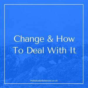 how to deal with unexpected change